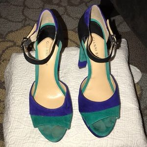 Gianni Bini Shoes - Gianni Bini Color Block Platform Heel - size 9